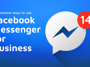 5 awesome ways to use Facebook Messenger for Business