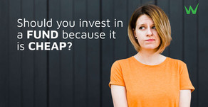 Should you invest in a fund because it is cheap?