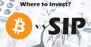 Bitcoin V/S Safe Investment Plan(SIP)