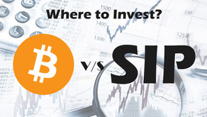 Bitcoin V/S Safe Investment Plan(SIP)