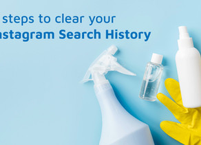 4 steps to clear your Instagram Search History