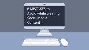 6 MISTAKES to Avoid while creating Social Media Content