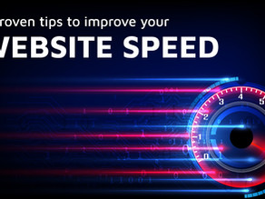 5 proven tips to improve your website  speed