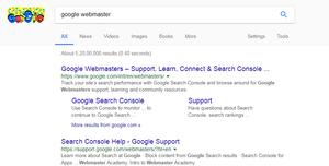 Google Webmaster Search