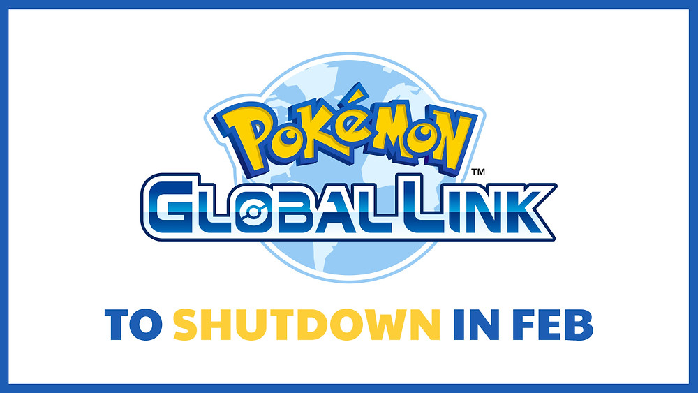 Pokemon Global Link to Shut Down