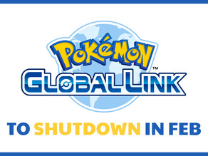 Pokemon Global Link Service to Shut Down in February 2020