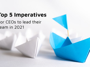 Top 5 imperatives for CEOs to lead their team in 2021