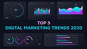 Top 5 Digital Marketing trends you should know in 2020!