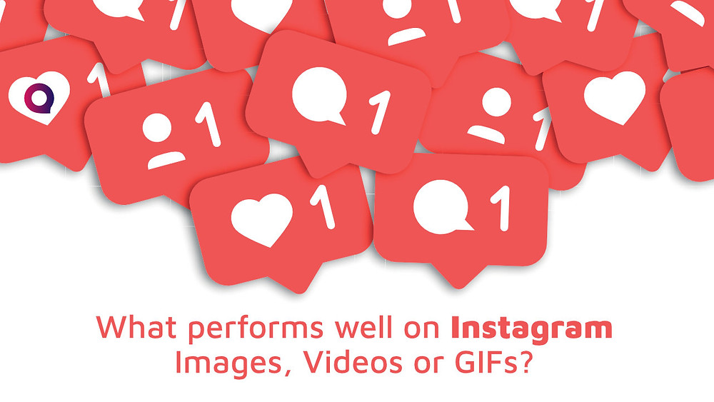 What performs well on Instagram- Images, Videos or GIFs?