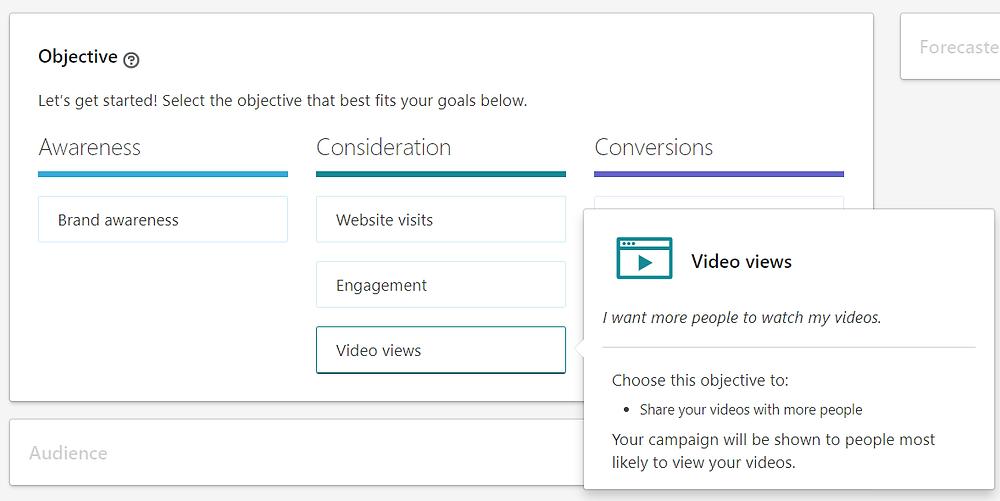 Video Views Linkedin Ads