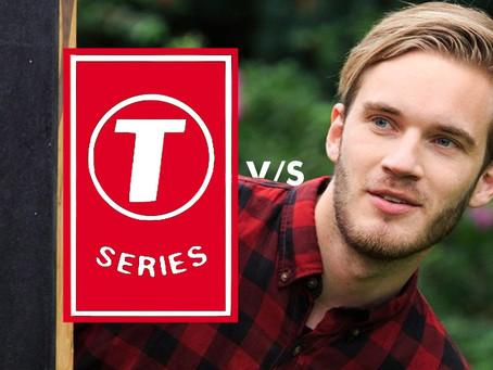 PewDiePie vs T-Series   Countdown has begun!