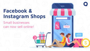 Introducing Facebook and Instagram Shops: Small businesses can now sell online!