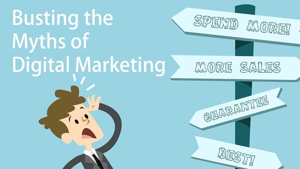Busting the Myths of Digital Marketing