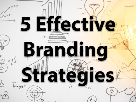 Five Effective Branding Strategies