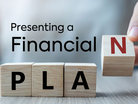Presenting a Financial Plan