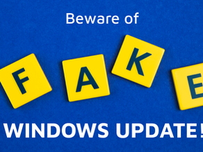 Warning! Stop Believing This Fake 'Windows Update' Now