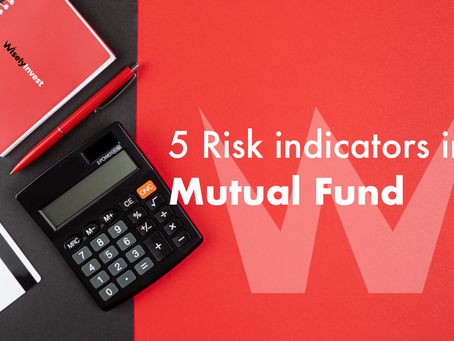 5 Risk indicators in Mutual Fund