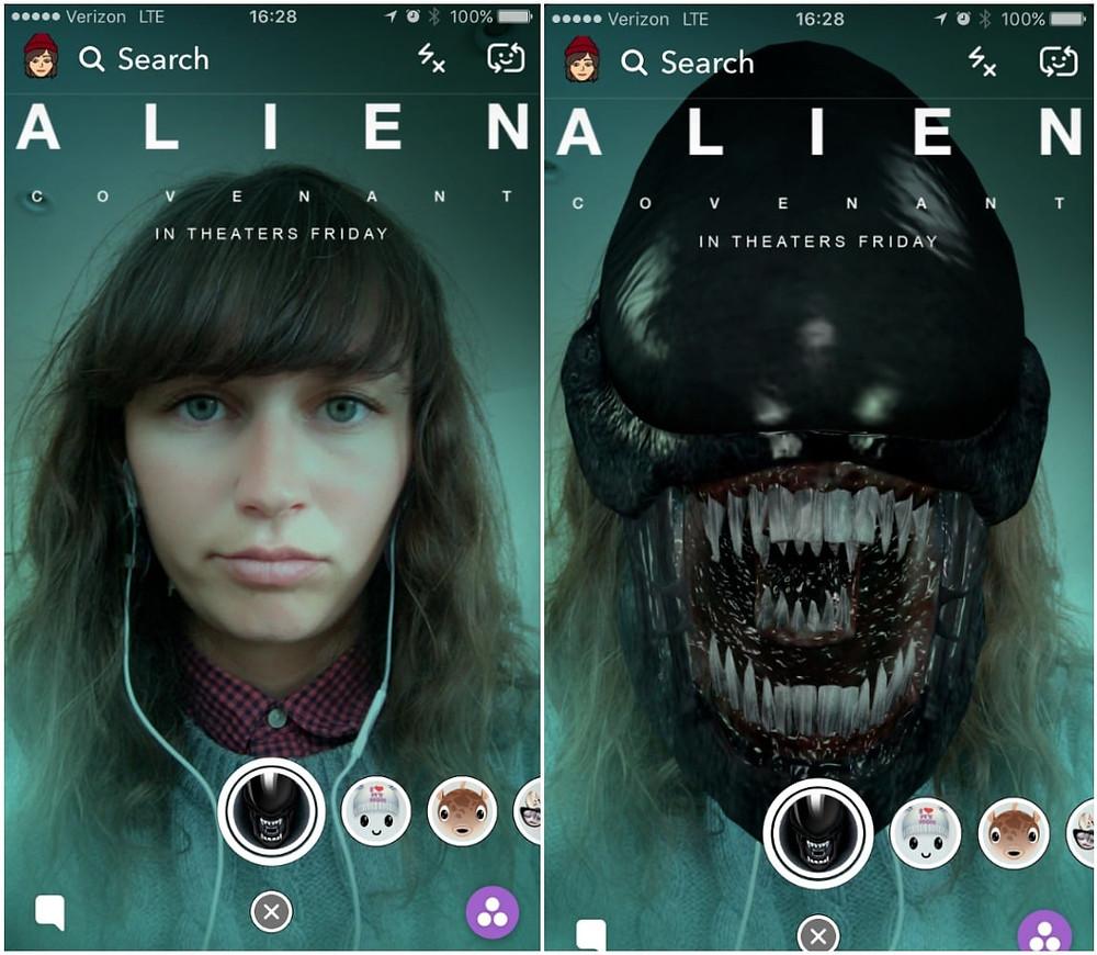 Snapchat Sponsored Ads