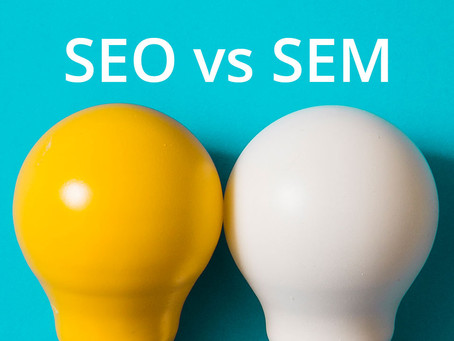 What is the difference between SEO & SEM?