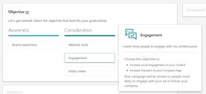 Engagement Linkedin Ads