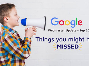 Google September 2019 Core Update: Things You Should Know
