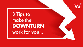 3 Tips to make the DOWNTURN work for you