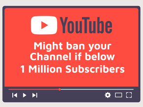 YouTube can now Suspend your Account if it is not commercially viable