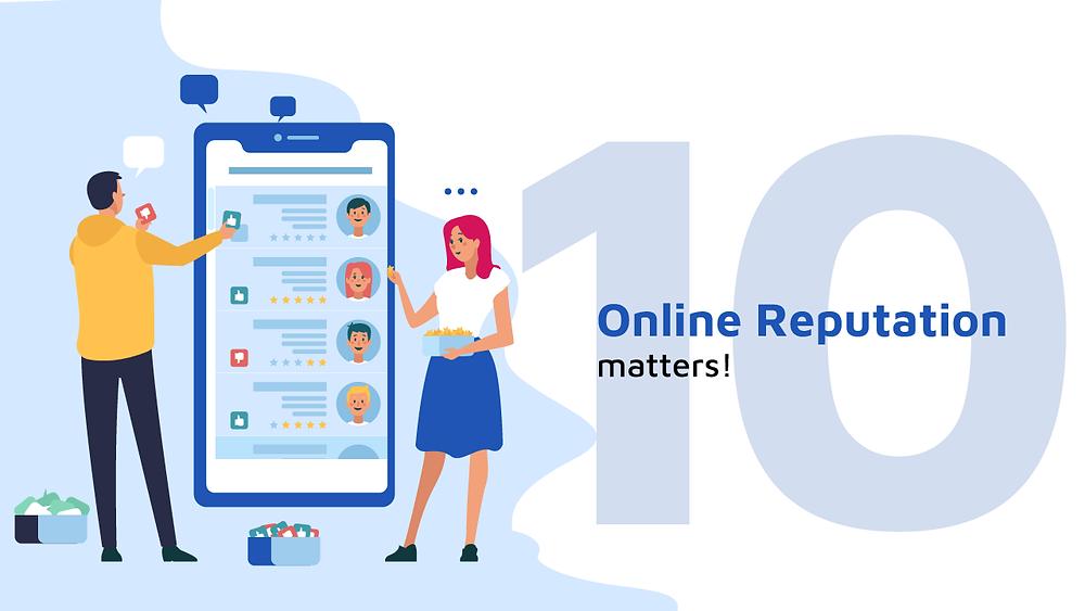 Online reputation matters!