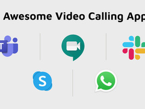 5 awesome video calling apps for meetings during COVID-19 lockdown!