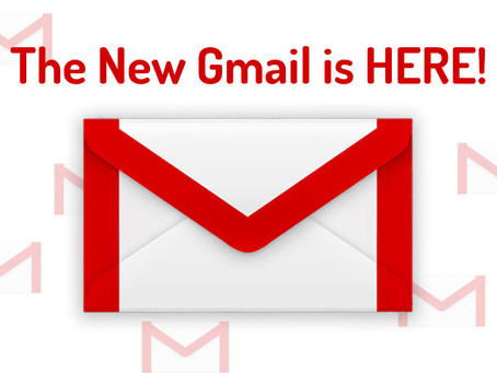 The New Gmail is HERE!