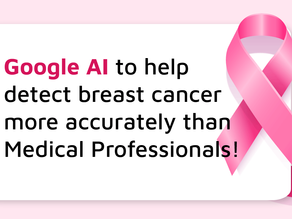 Google AI to help detect breast cancer more accurately than medical professionals!