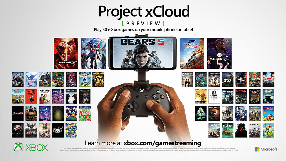 Project xCloud by Microsoft
