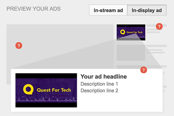 YouTube Ad Options