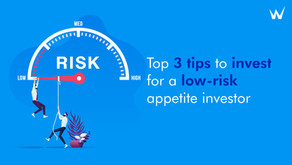 Top 3 tips to invest if you are a low-risk appetite investor