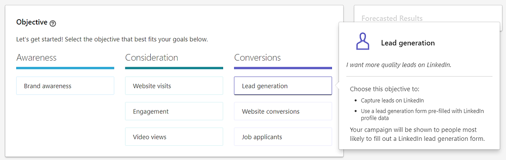 Lead Generation Linkedin Ads