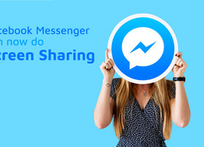 Facebook adds screen sharing feature on Messenger,iOS and Android