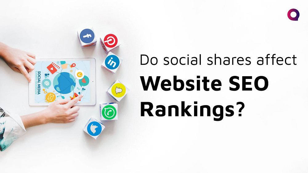 Do social shares affect Website SEO Rankings?