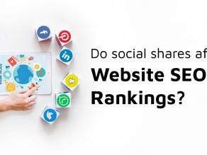Social Media and SEO: Do Social Shares Affect SEO Rankings?