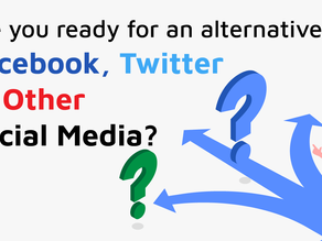 Are you ready for an alternative to Facebook and Twitter?