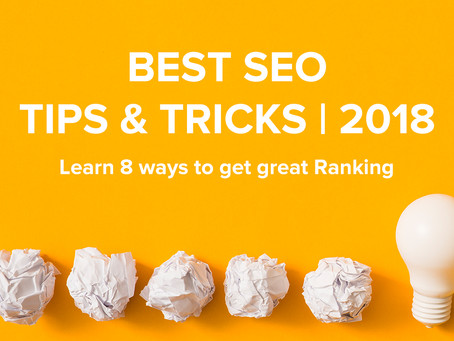 Best SEO Tips and Tricks | 2018