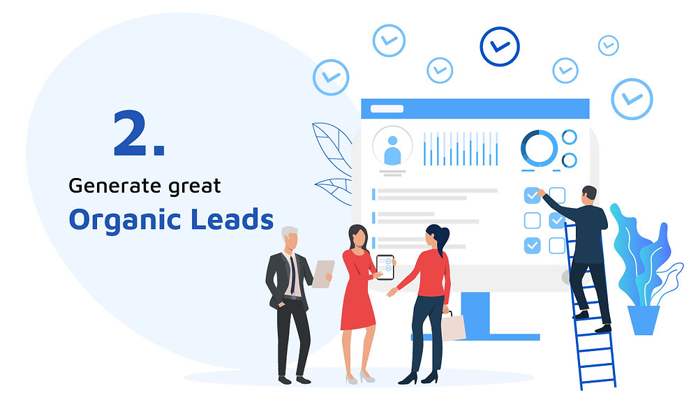 How to generate organic leads