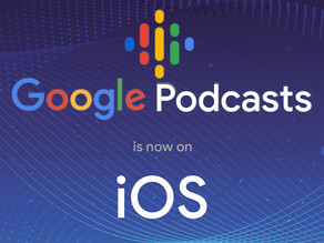 Google Podcasts now on iOS! Discover your favorite podcast.