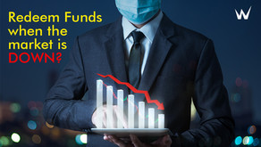 Is it a good idea to redeem funds when the market is down?