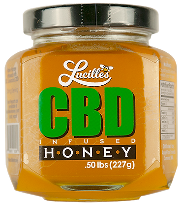 Lucille's CBD Infused Honey