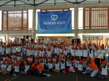 Guerreros Azules, la fundación que lucha contra prejuicios de la diabetes