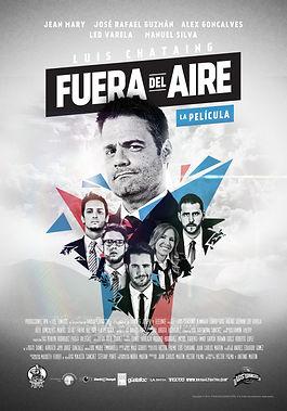 Fuera del Aire La Pelicula Poster (25 ag