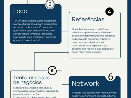 Oito passos para o desenvolvimento da marca pessoal