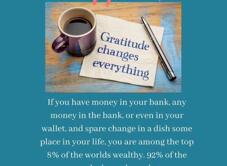 Br Grateful for what you have