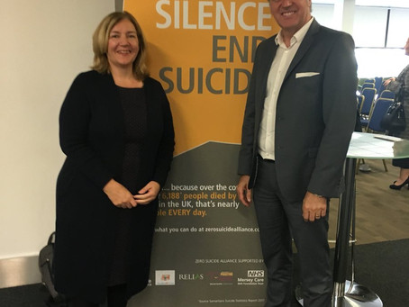 Citizens Advice Liverpool make a commitment to prevent suicide on Merseyside