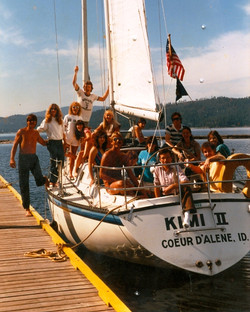 Labor Day Sailing with the Crew